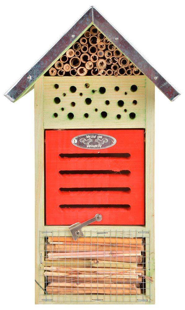 Insektenhotel für Brut und Überwinterung